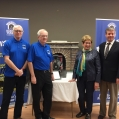 March 10, 2017 - Tunnel Committee vice-chairs, Doug Grant, Jack Kenny and Linda Eyre, with chair Bro